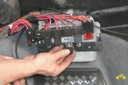 Замена реле системы управления двигателем