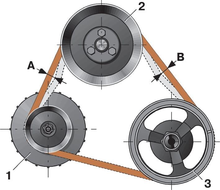 Схема ремня генератора шевроле фото 774