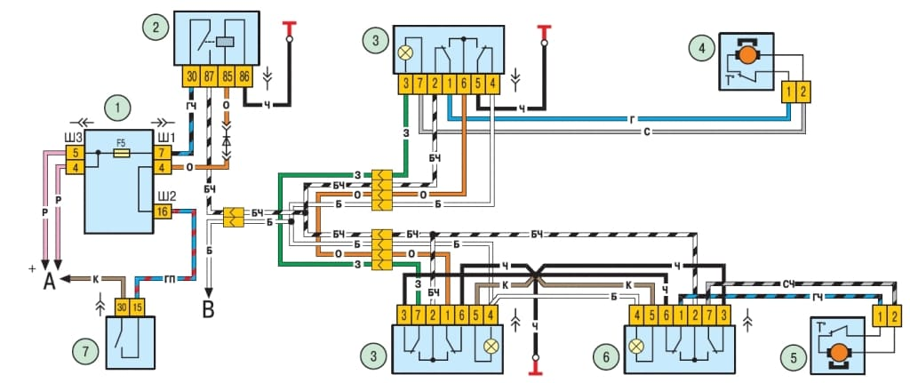 Электросхема нива шевроле 2123 фото 298